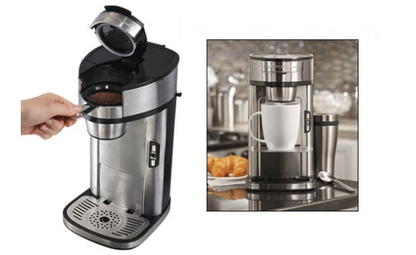 "Hamilton Beach ""The Scoop"" Single-Serve Coffee Maker"