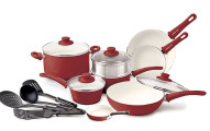 GreenLife 16pc Ceramic Cookware Set