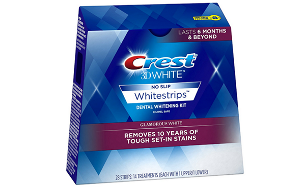 Crest 3D Teeth Whitening Strips Kit