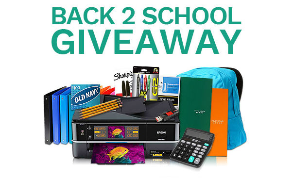 Back-to-School Giveaway