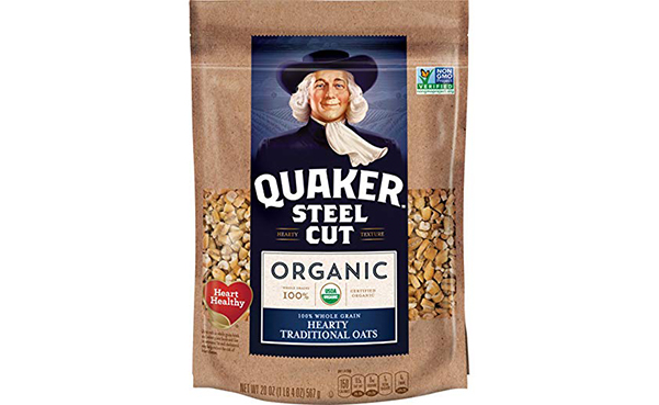 Quaker Organic Steel Cut Oatmeal