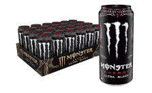 Monster Energy Ultra Black, 24 Count