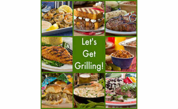 Free Mr. Food Let's Get Grilling Recipe Book