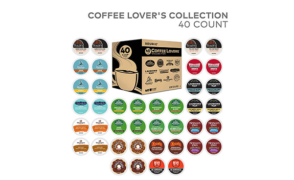 Green Mountain K-Cup Coffee Variety Pack, 40 Count
