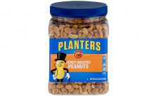 Planters Dry Honey Roasted Peanuts, Pack of 2