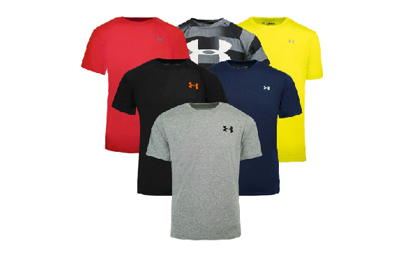 Under Armour Boy's Mystery T-Shirt, 5-Pack