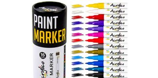 Acrylico Markers Multi Surface
