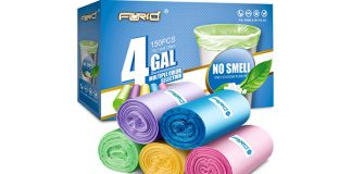 FORID 4 Gallon Garbage Bags