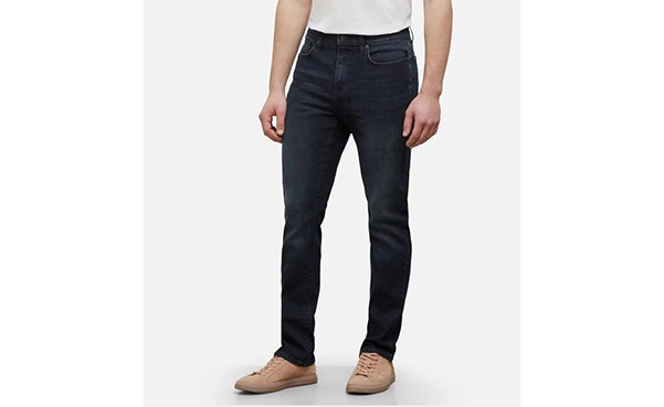 Kenneth Cole New York Men's Straight Fit Denim Pants