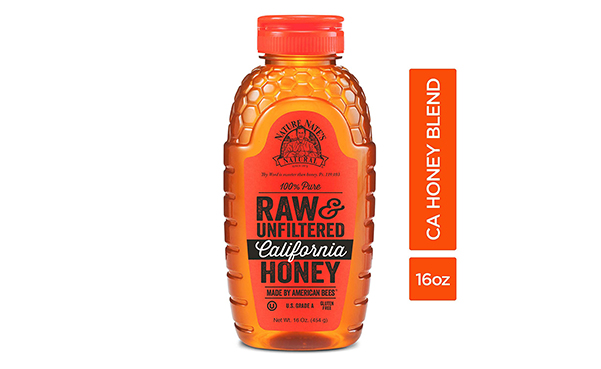Nature Nate's 100% Pure Raw California Honey