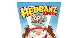 HedBanz Jr. Family Quick Question Guessing Board Game