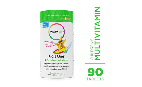 Rainbow Light Kids One Food-Based Multivitamin
