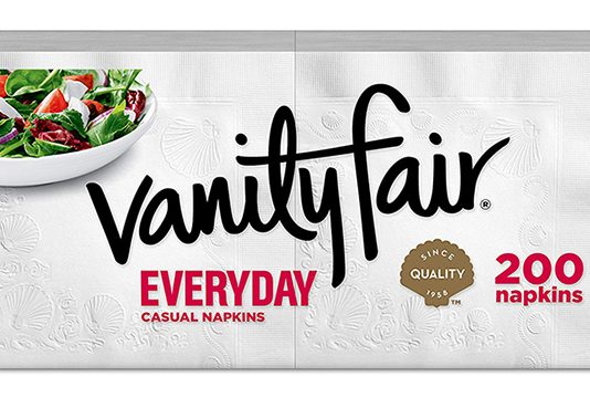 Vanity Fair Everyday Napkins, 200 Count