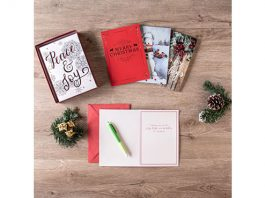 C.R. Gibson 80pc Assorted Holiday Cards