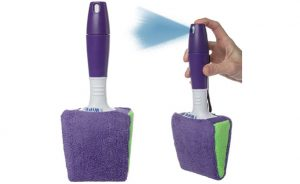 Cleaning Brush With Sprayer Handle, 2-Pack