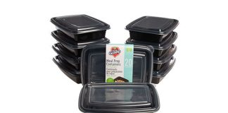 Fresh Guard Meal Prep Containers, 20-Piece