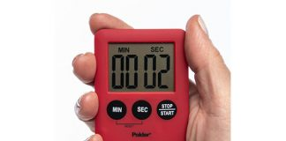 Polder 100-Minute Digital Kitchen Timer
