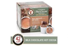 Victor Allen Milk Chocolate Hot Cocoa Single Serve Cups, 42 Count