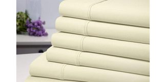 Bamboo Blend 1800 Series 6-Piece Sheet Set