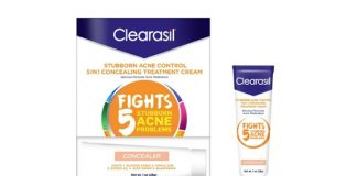 Clearasil Stubborn Acne Control Concealing Treatment, 3-Pack