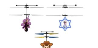 Frozen and Toy Story Sensor Heli Ball
