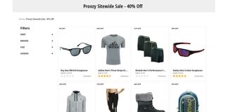 Proozy Sitewide Sale Extra 40% Off