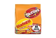 SKITTLES & STARBURST Variety Mix Bag
