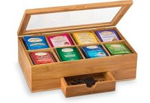 Bambusi Bamboo Tea Storage Box