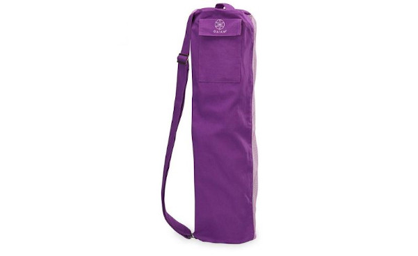Gaiam Breathable Yoga Mat Bag – Shoulder Strap, Zipper Pockets