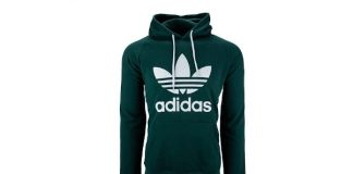 adidas Men's Originals Trefoil Hooded Sweatshirt