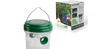 Touch of Eco Suntrap Pro - Solar LED Mosquito & Insects Trapper