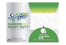 Swiffer Sweeper Heavy Duty Dry Sweeping Cloths - 20 Count Multicolor