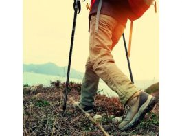MTN Anti-Shock Adjustable Trekking Poles – Tough & Lightweight