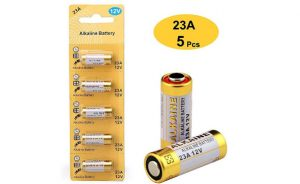 LiCB A23 23A 12V Alkaline Battery (5-Pack)