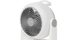 "Woozoo Whole Room Circulator Fan, Blade 7"", White PCF-HD18NU"
