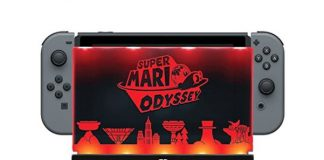 Nintendo Switch 500-042 Light Up Dock Shield by PDP