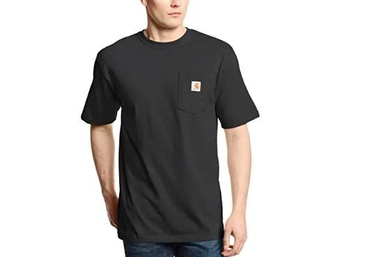 Carhartt Men's K87 Workwear Pocket Short Sleeve T-Shirt (Regular and Big & Tall Sizes)